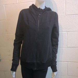 lululemon athletica Tops - Lululemon black & gray zip up jacket sz 8 60671